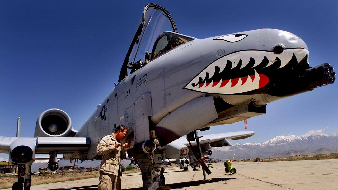 Air Force deploys A-10 ground attack aircraft to Afghanistan
