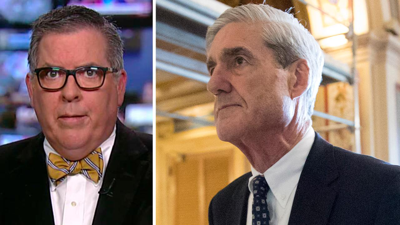Robert Driscoll on signs Mueller probe is nearing its end