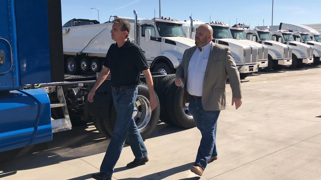 Truckers, survivor fight to combat human trafficking