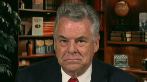 Rep. King reacts after DOJ urges against release of memo