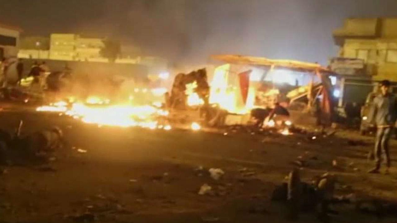 Deadly explosions rock Benghazi, Libya