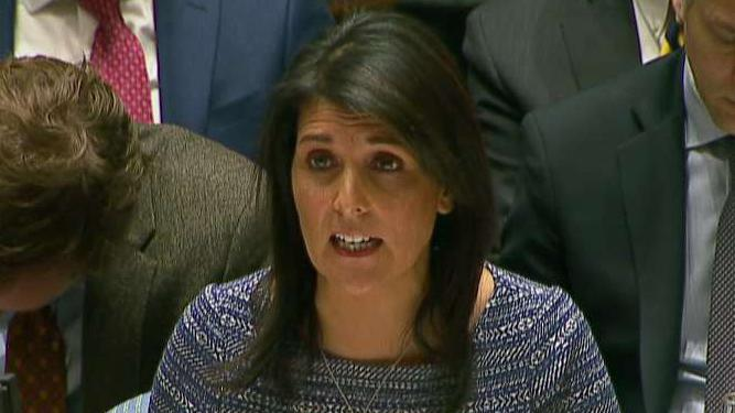 Haley exhorts Abbas: Mideast peace requires courage