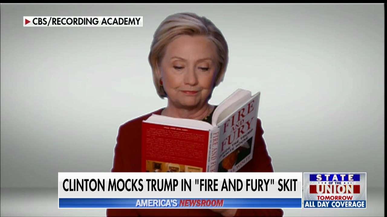 Pavlich: Clinton's Grammy Cameo Proves She's A Hypocrite