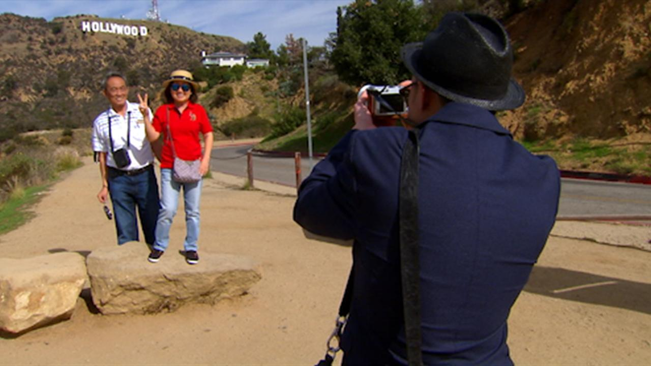 LA officials consider new Hollywood sign