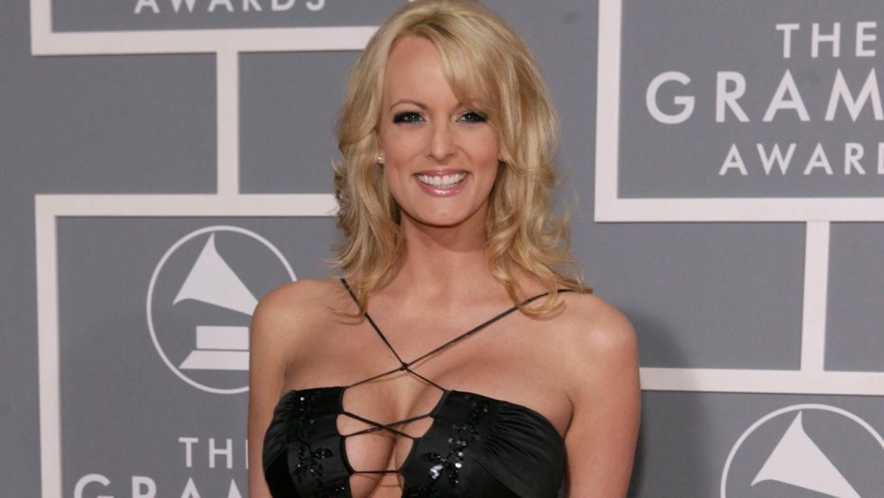 Stormy Daniels plays coy with Jimmy Kimmel