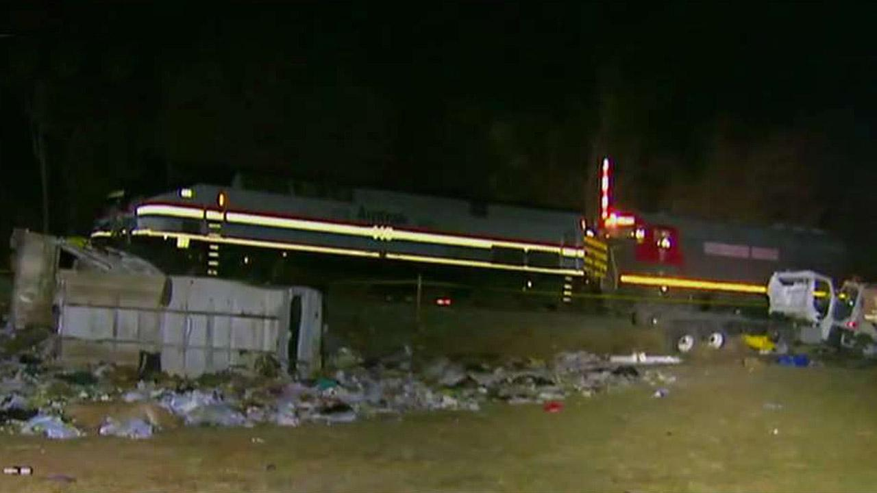 NTSB heads to scene of deadly train crash full of lawmakers