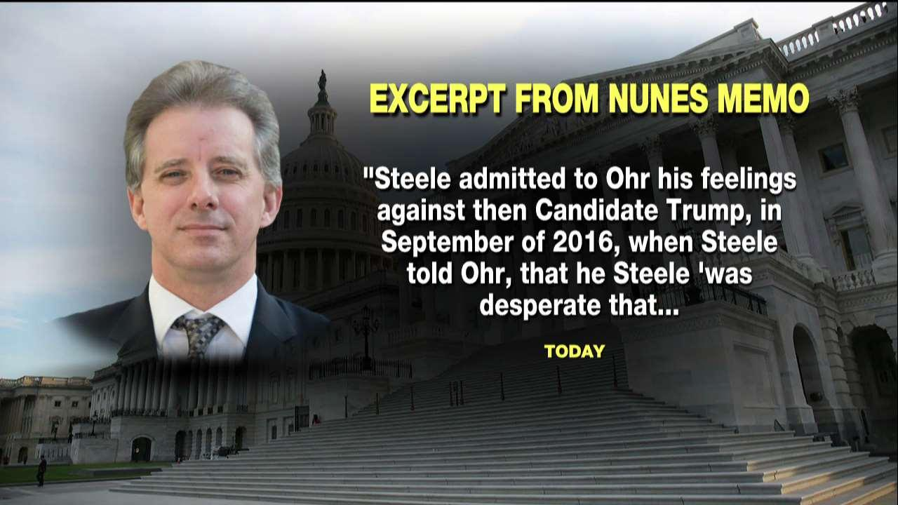 Memo: Steele Admitted He Was 'Desperate' Trump Not Get Elected
