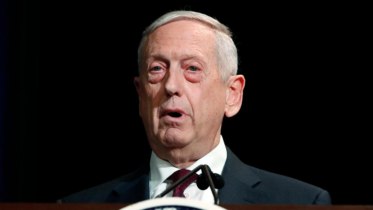 Defense Secretary Mattis says US military edge has eroded