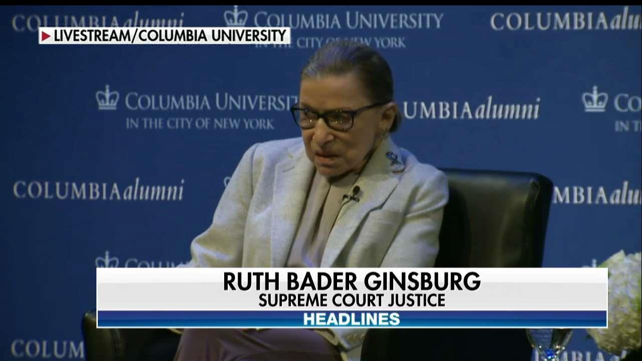 Justice Ginsburg: 'Macho Atmosphere' and 'Sexism' Played Prominent Role in Clinton's Election Loss
