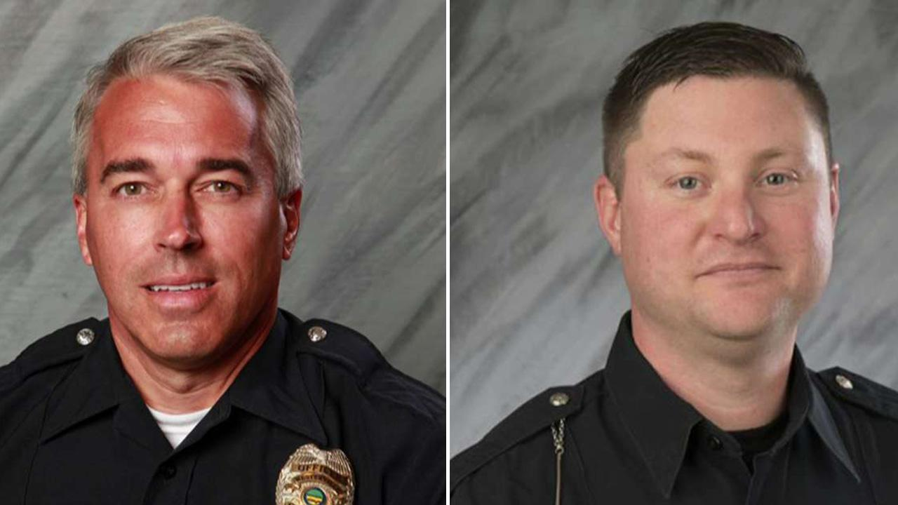 Ohio community mourns 2 cops killed responding to 911 call