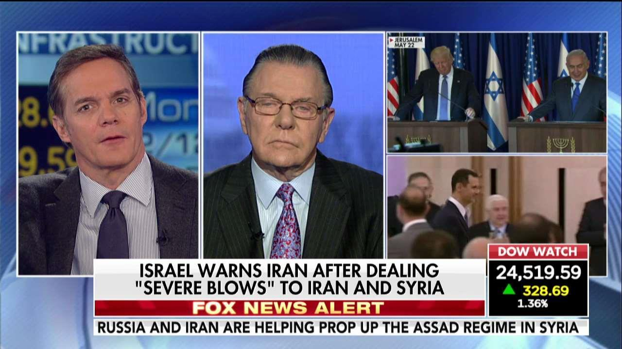 Gen. Keane: Iran on the move in the Middle East.
