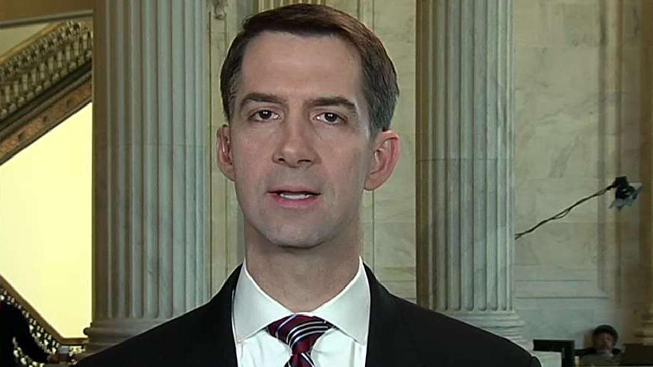 Cotton: Trump's immigration bill is a 'best and final offer'