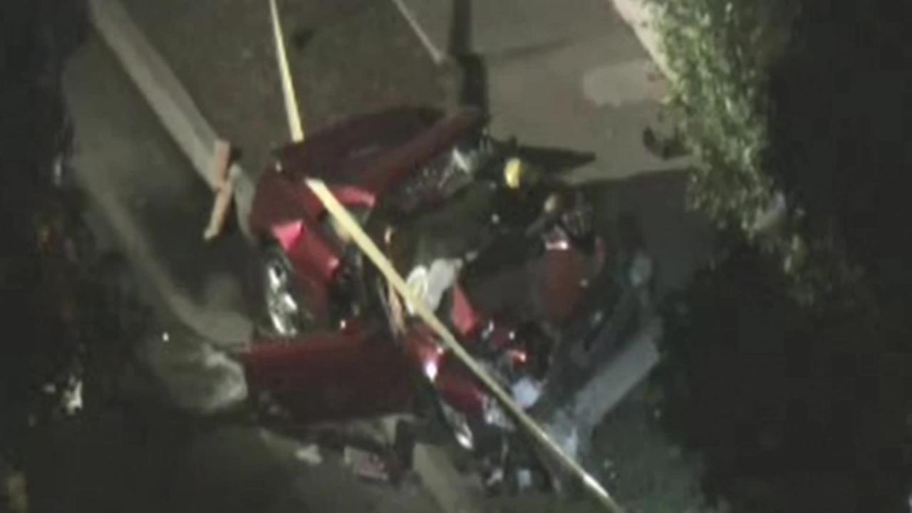 Luke Wilson and pro golfer Bill Haas involved in fatal Ferrari crash