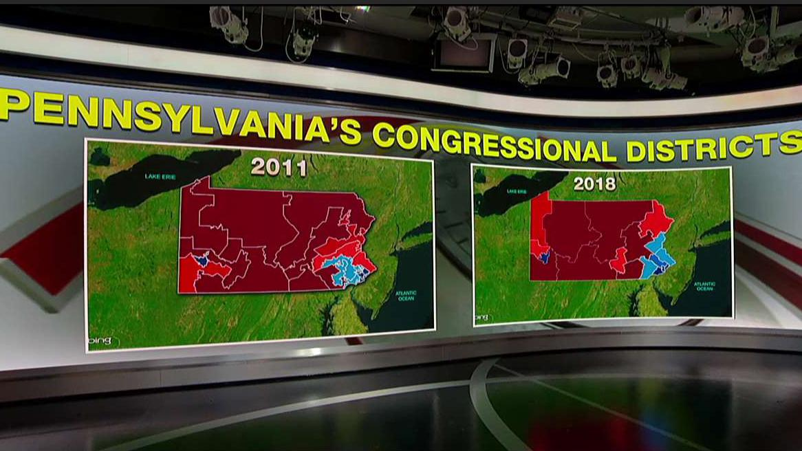 GOP outrage over new Pennsylvania congressional district map