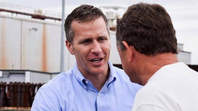 Missouri Governor Eric Greitens indicted on felony charge
