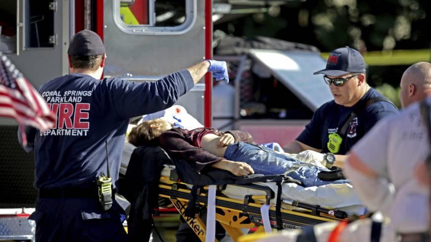 EMT says police wouldn't let medics into Parkland school