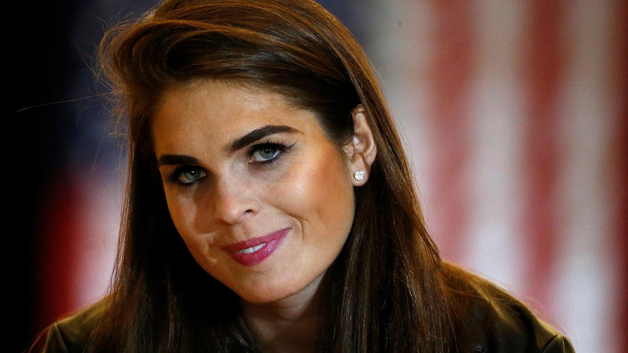 Hope Hicks grilled by House Intel Committee for nine hours