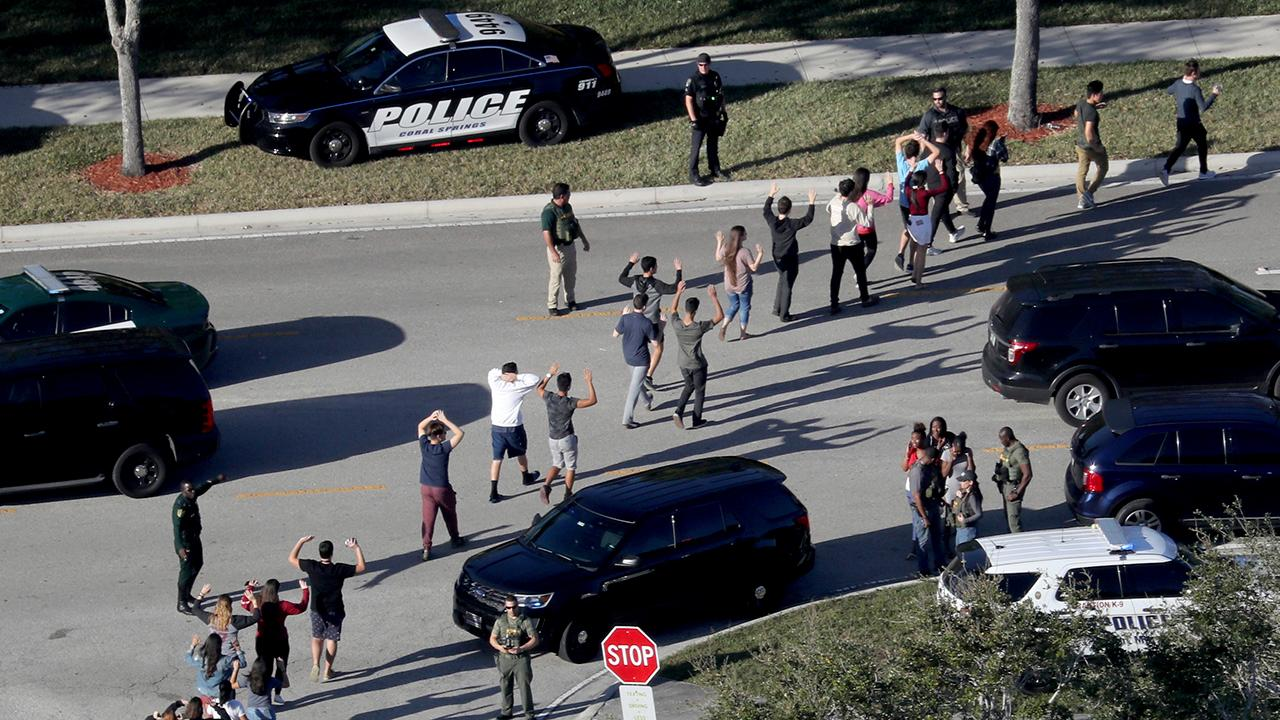 Surveillance video sought in Parkland, Florida shooting