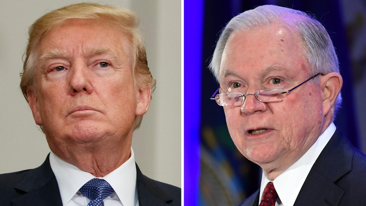 Trump rips Sessions's decision to use IG to probe FISA court