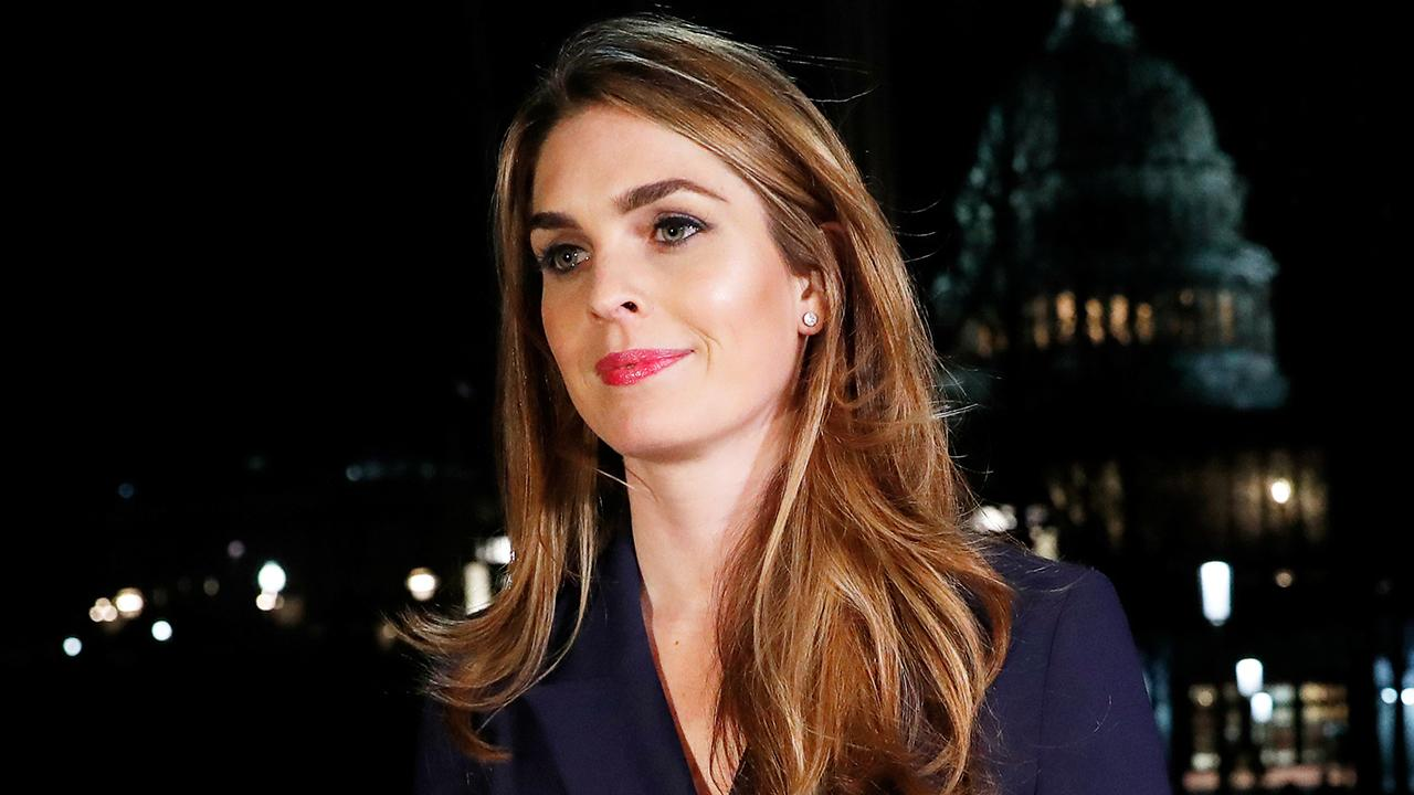 Hope Hicks resigning as White House communications director
