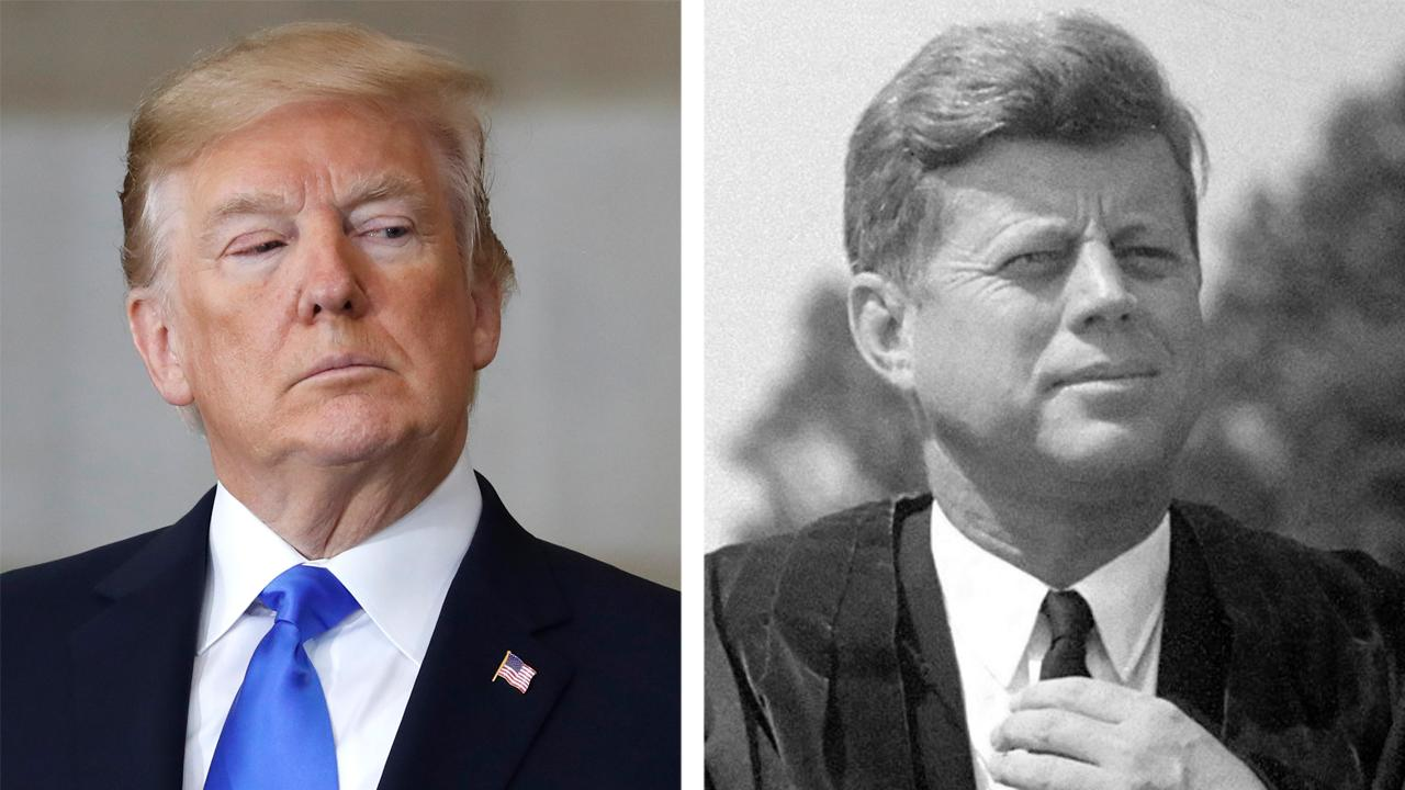 Historian compares steel polices of Kennedy and Trump