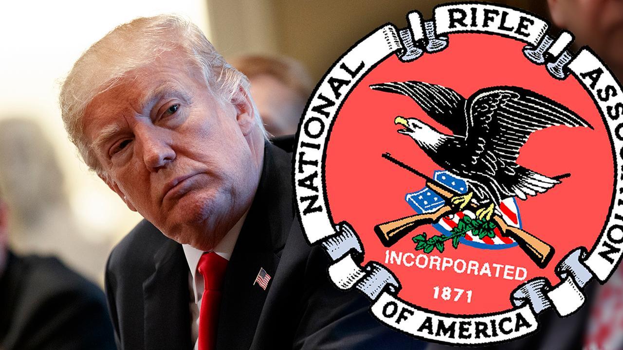 NRA: President Trump doesn't want gun control