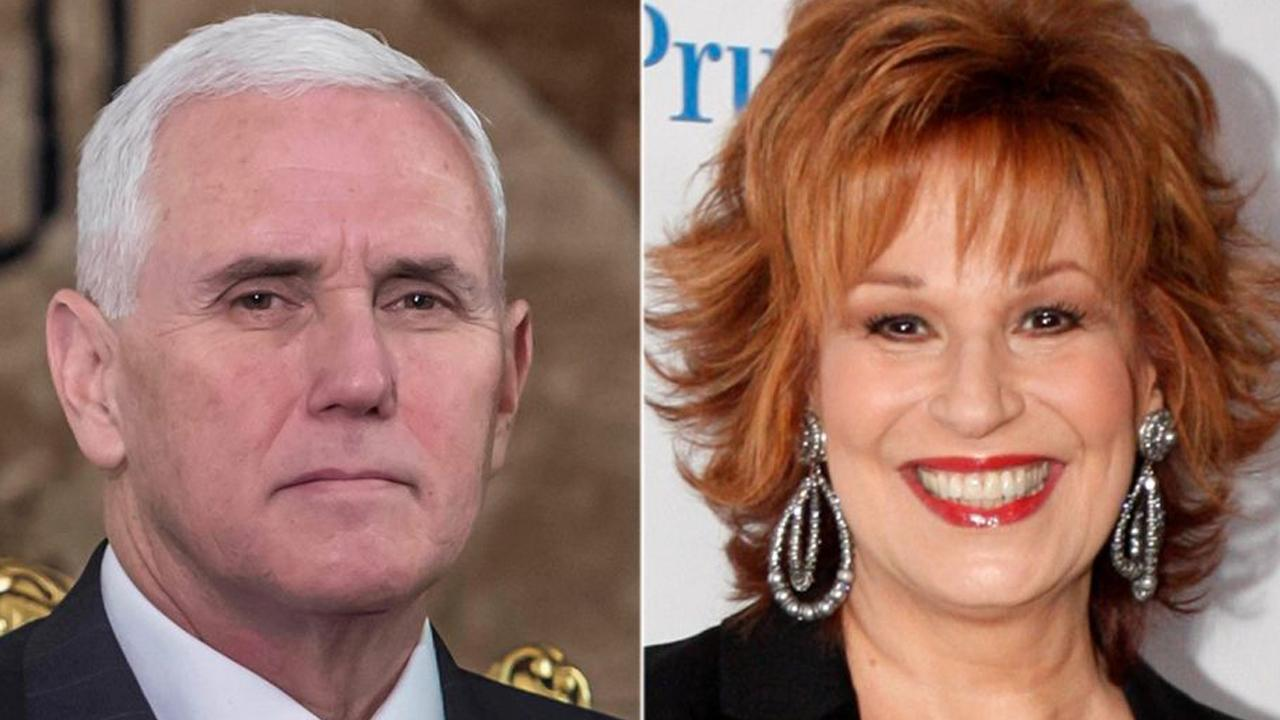 Mike Pence urges Joy Behar to apologize to Christians