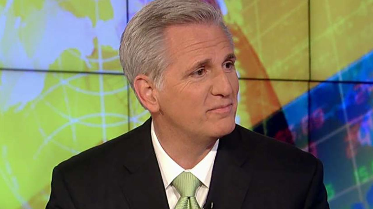 House Majority leader discusses Trump's agreement to meet Kim Jong Un, the Pennsylvania special election and tariffs on steel imports on 'Sunday Morning Futures.'