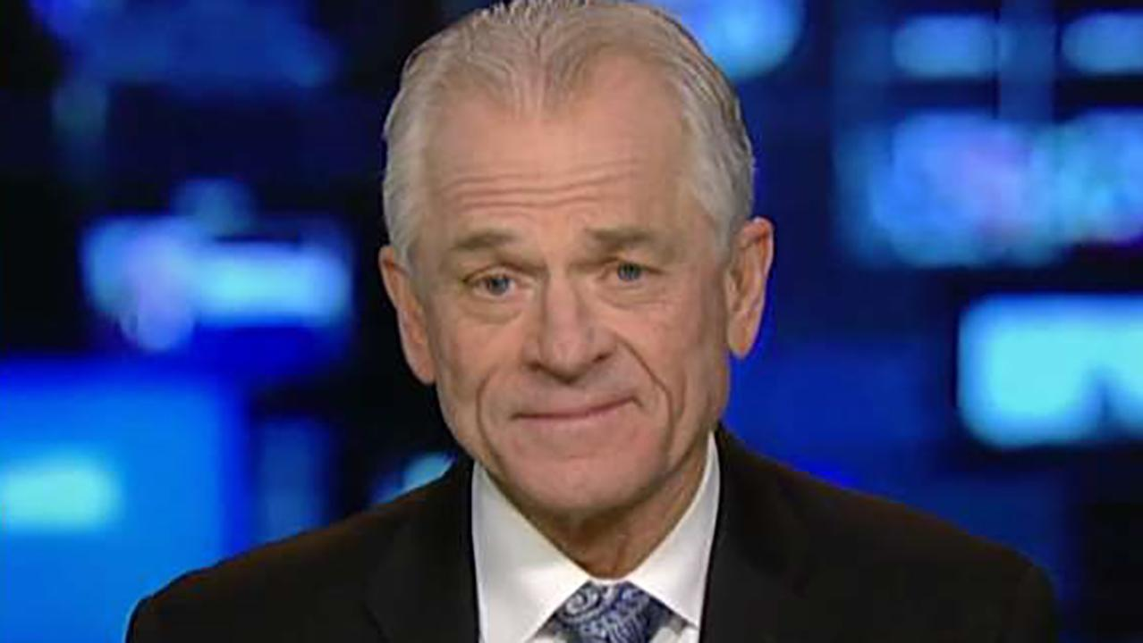 Will Europe impose reciprocal tariffs on U.S. goods? White House National Trade Council Director Peter Navarro reacts on 'Sunday Morning Futures.'