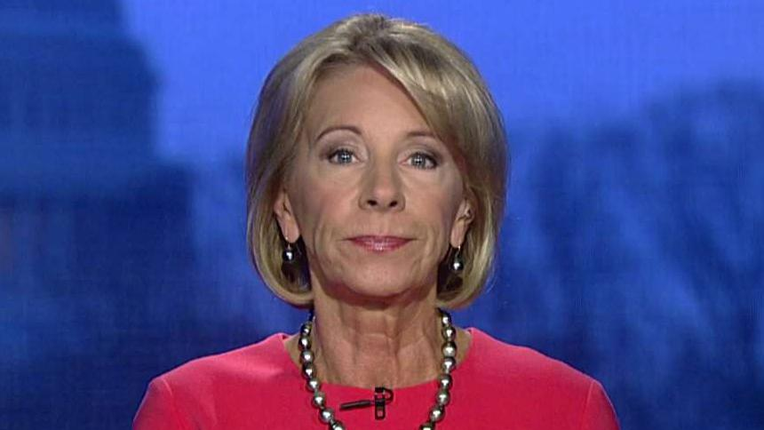 DeVos on White House unveiling new school safety guidelines