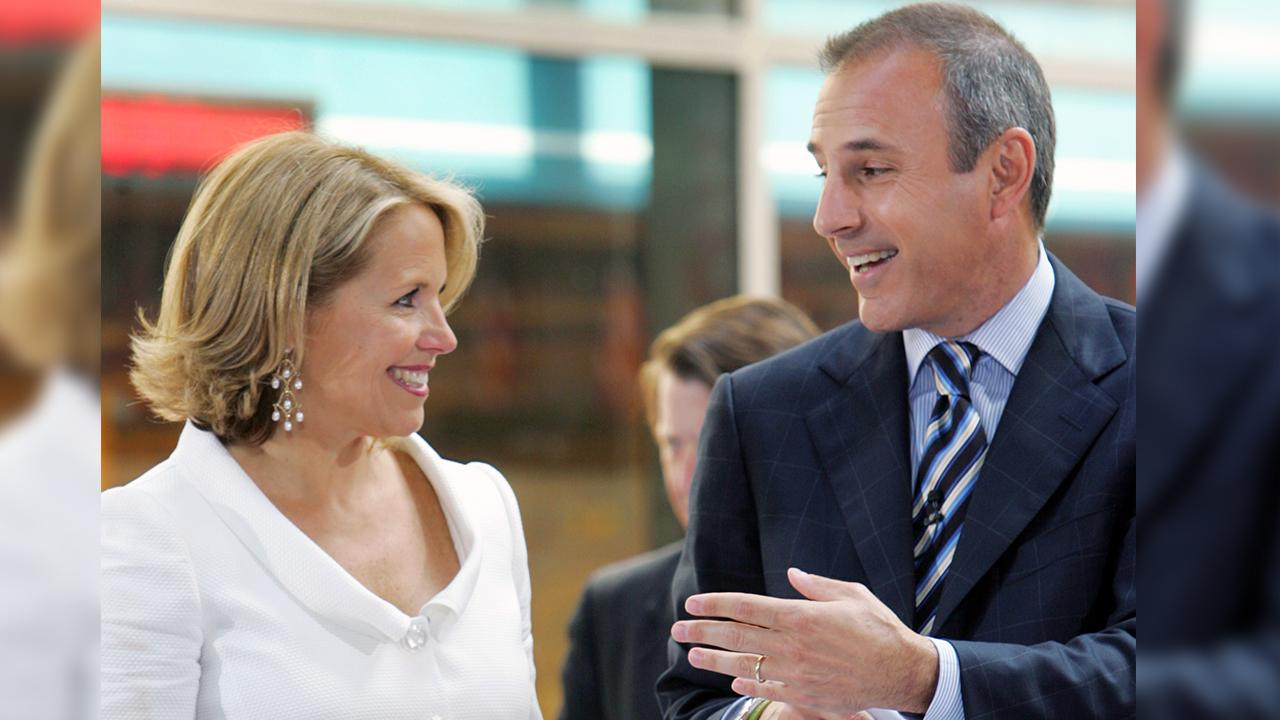 Katie Couric says she was 'unaware of' Matt Lauer's behavior