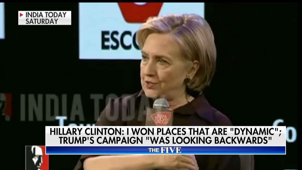 Gutfeld Rips Clinton India Speech