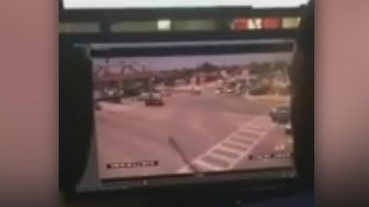 Moment FIU bridge collapsed caught on camera