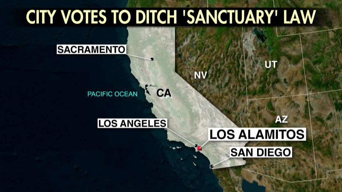 California city votes to challenge sanctuary policies
