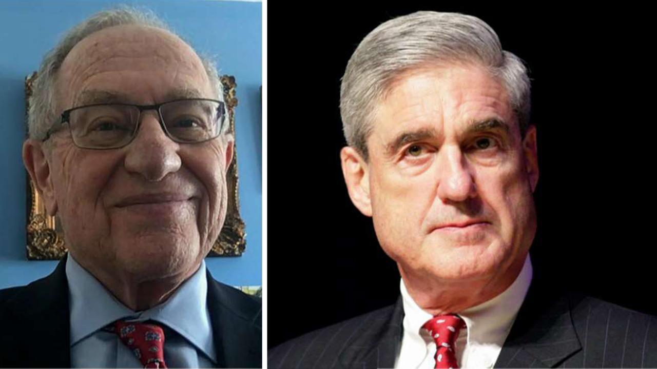 Dershowitz: Mueller investigation never should have begun