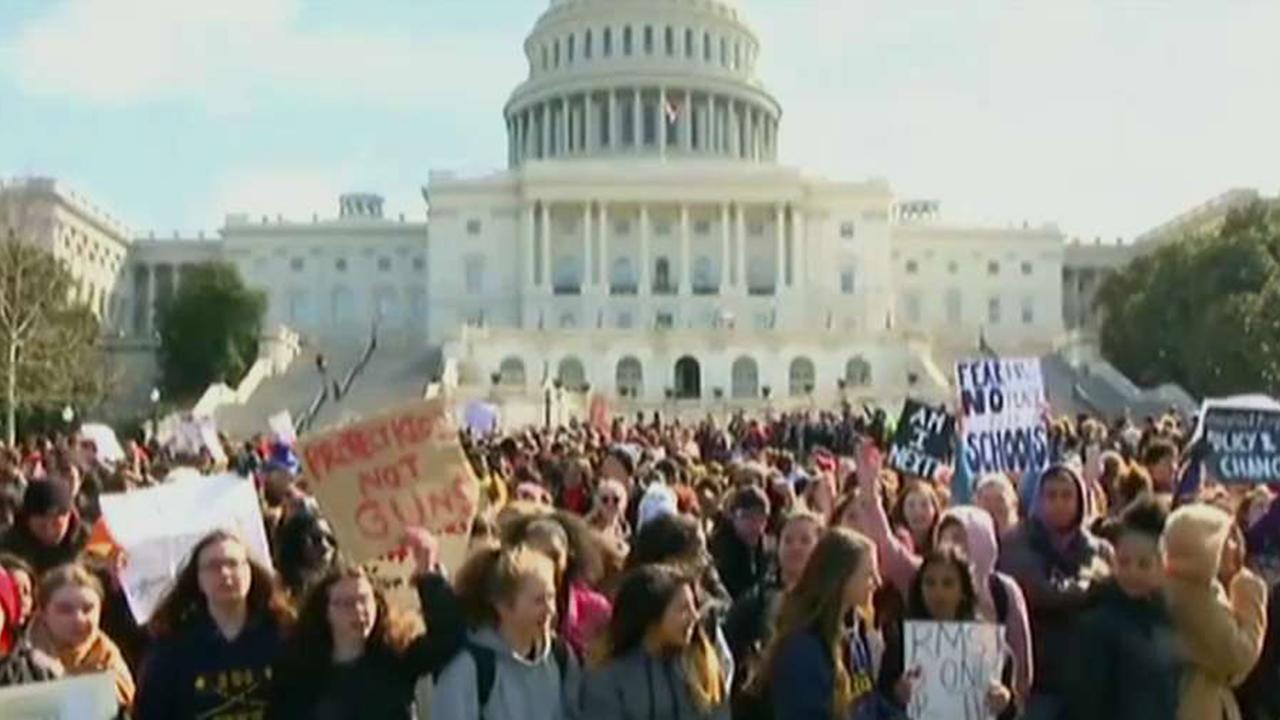 Young activists descend on DC for March for Our Lives
