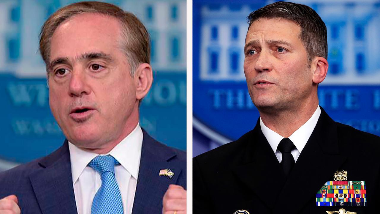 Trump fires Secretary Shulkin; taps Ronny Jackson to lead VA