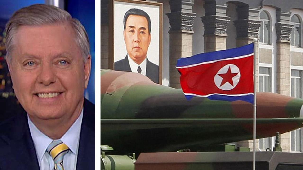 Senator Lindsey Graham talks diplomacy and North Korea