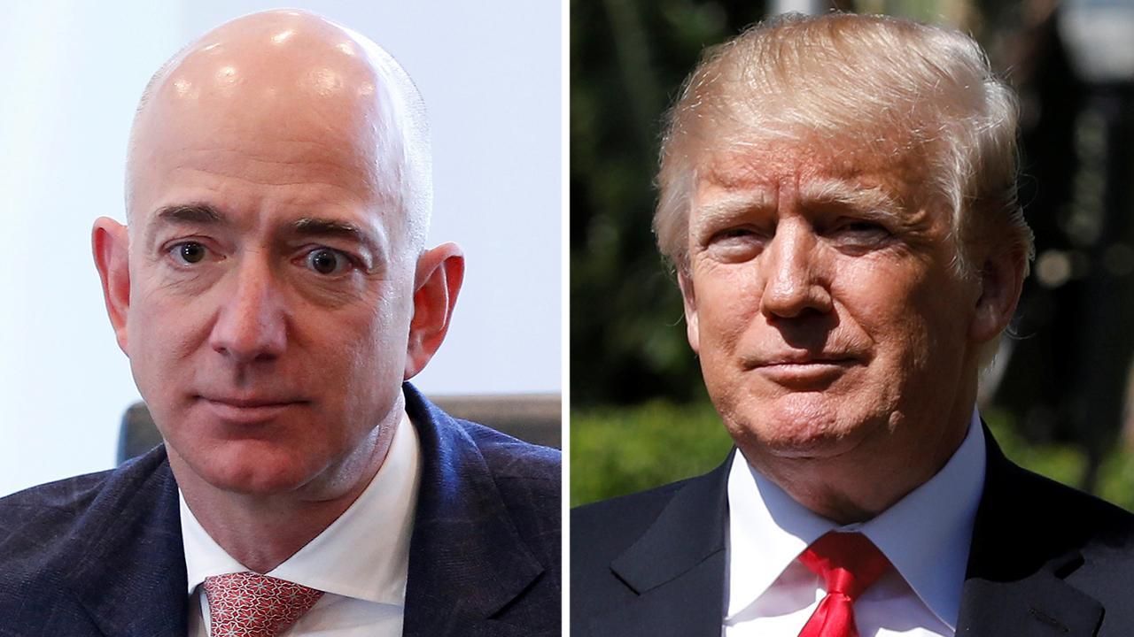 After the Buzz: Donald Trump vs. Jeff Bezos