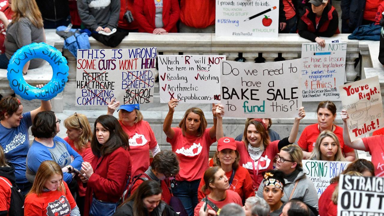 Oklahoma, Kentucky teachers strike: What to know