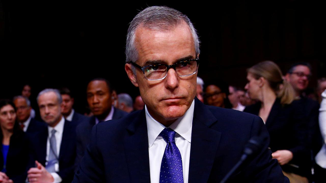 McCabe's wife breaks silence on husband's firing from FBI
