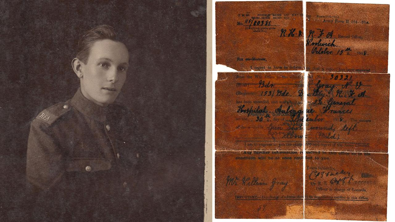 Jaw-dropping discovery: Soldier's diary retells WWI horrors