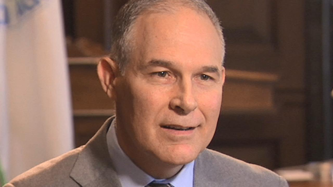 Full interview: Scott Pruitt pushes back on controversies
