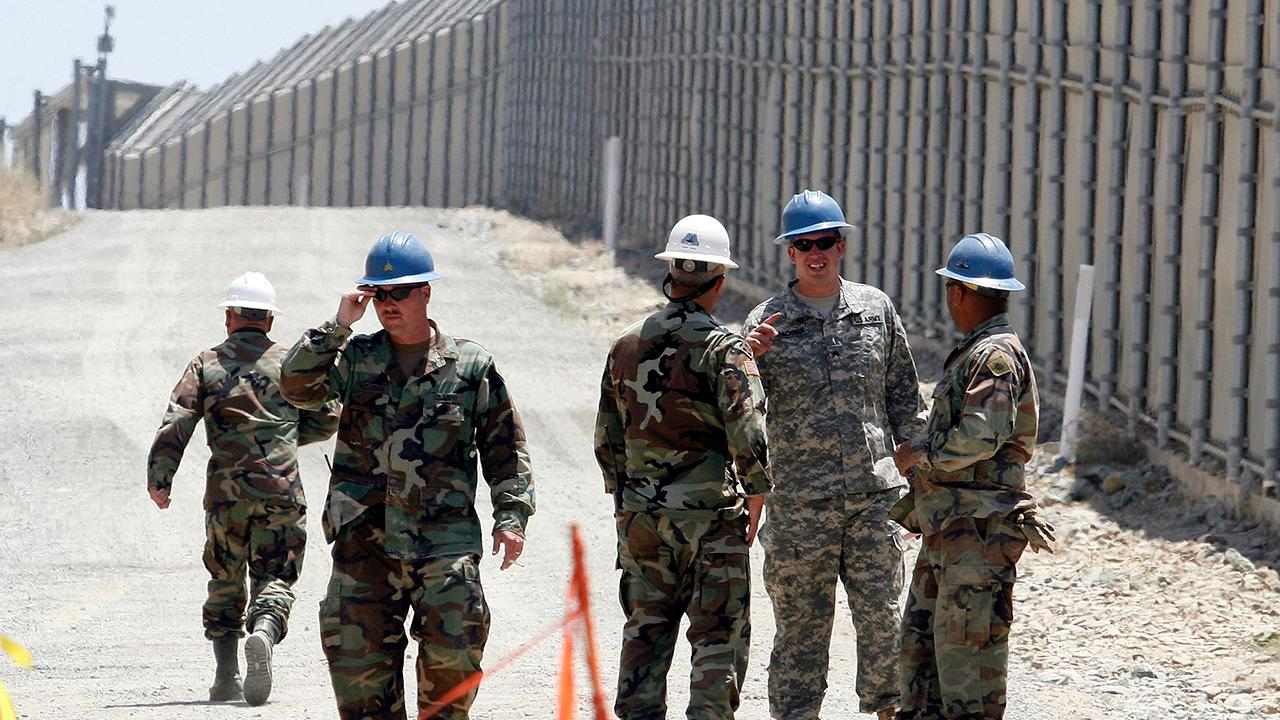 Trump's plan to deploy troops to the border sparks debate
