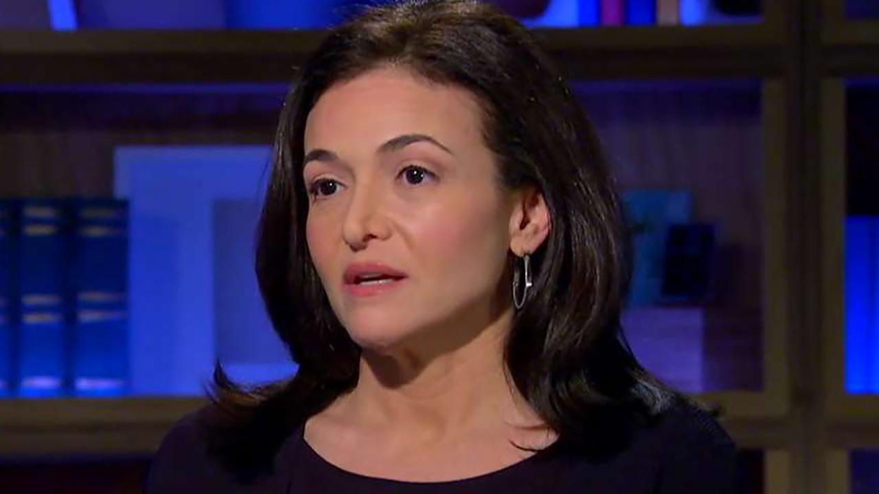 Facebook's Sheryl Sandberg vows greater user data protection
