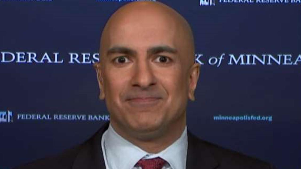 Reaction from Minneapolis Federal Reserve Bank President Neel Kashkari.