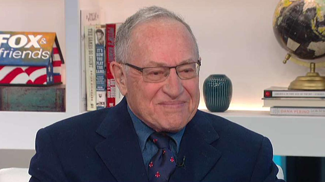 Dershowitz on Trump's response to Syria attack, Comey's book