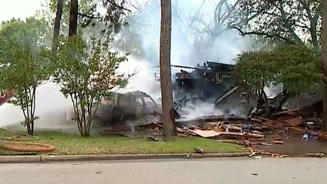 Car crashes into Texas home, sending family to the hospital