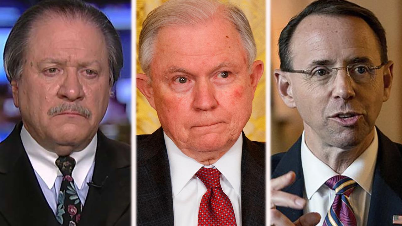 Joe diGenova: Jeff Sessions has a duty to fire Rosenstein