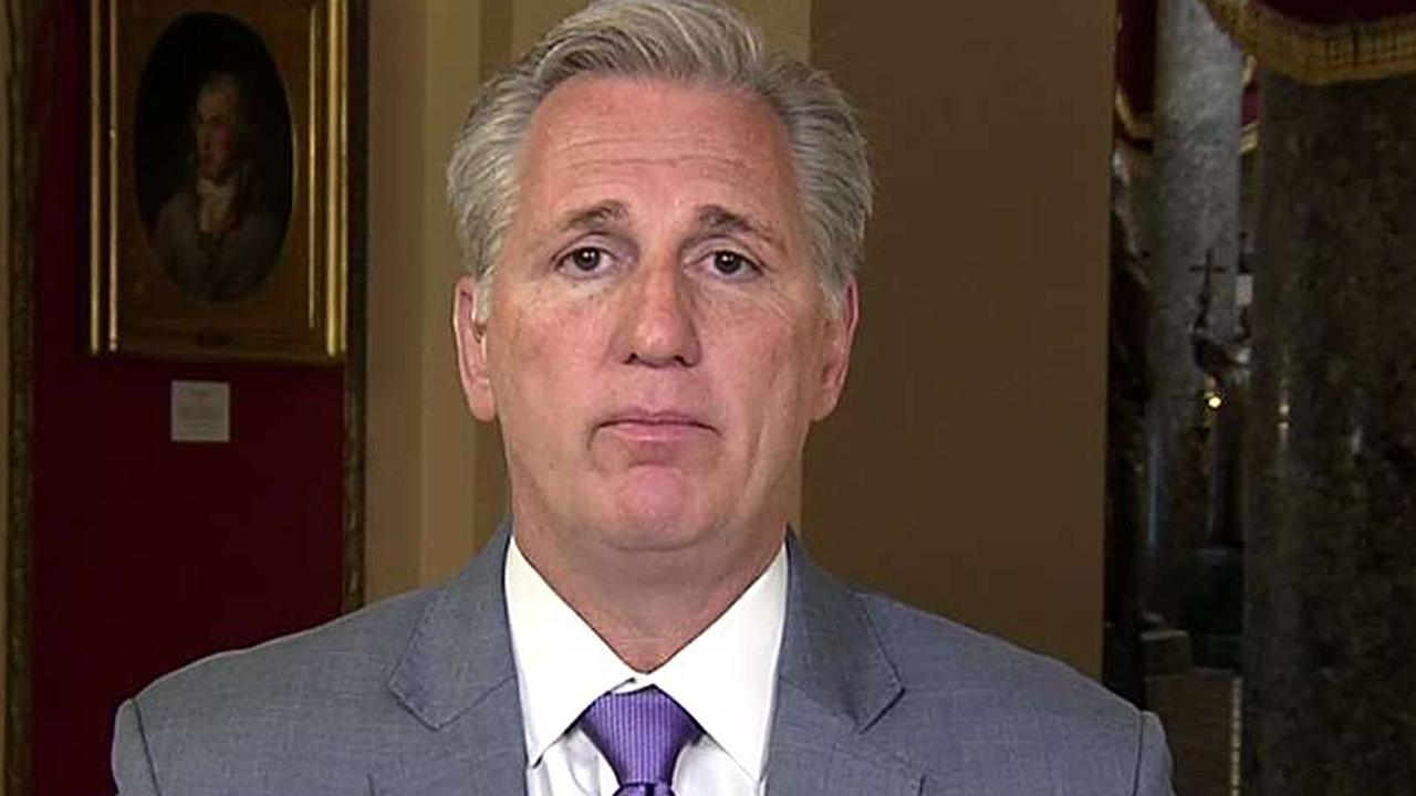 Rep. McCarthy: We have to finish the president's agenda
